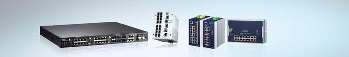 Kommunikationstechnik Ethernet Switches administrierbar