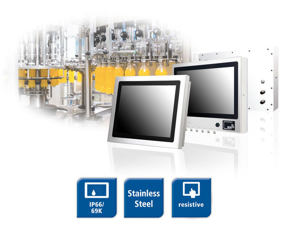 Spectra Panel Z-Series - IP66/69K stainless steel PPC