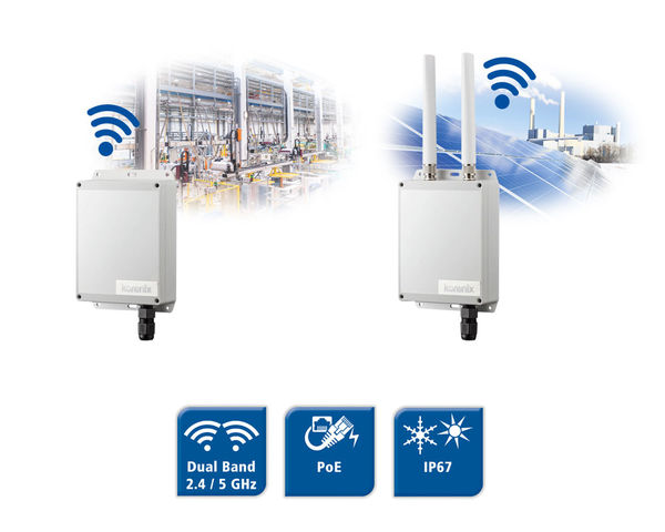 JetWave-2460 - Dual Band Access Point