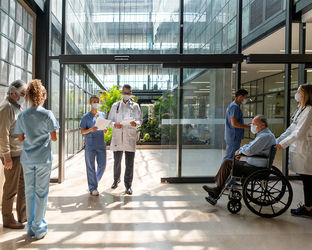 COVID-Panel Anwendungsgebiet - Gesundheitswesen