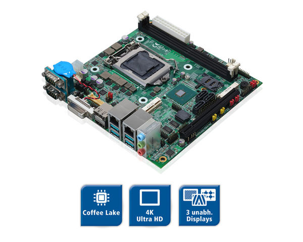 LV-67X - Coffee Lake Mini-ITX Board