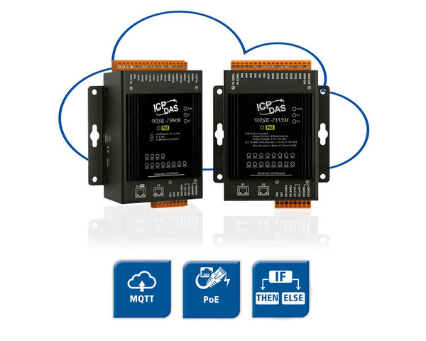WISE-75xx - MQTT Feldbus E/A Module für IoT