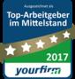 YourFirm Top Arbeitgeber im Mittelstand 2017