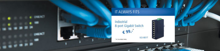 IGS-801T Ethernet Switch