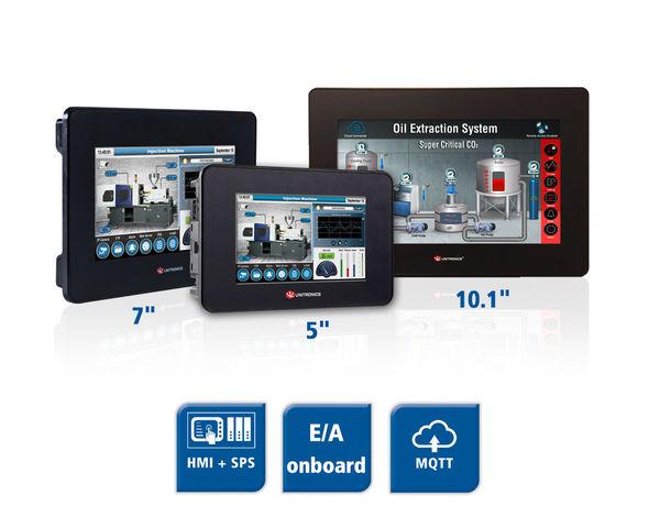 Unistream All-in-One HMI + SPS + E/A