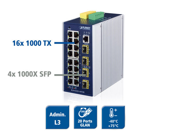 IGS-6325-16T4S - 20-Port Ethernet Switch