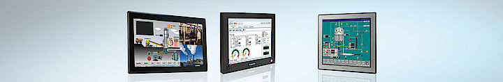 IPC-Komponenten Displays 19""