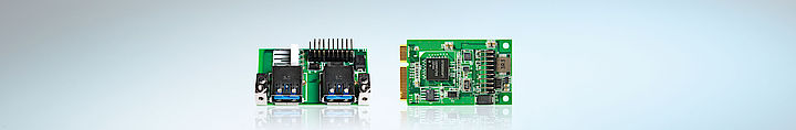 IPC-Komponenten Erweiterungskarten USB