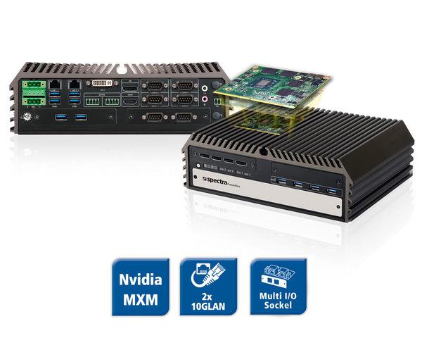 Spectra PowerBox 500 - GPU Computing System