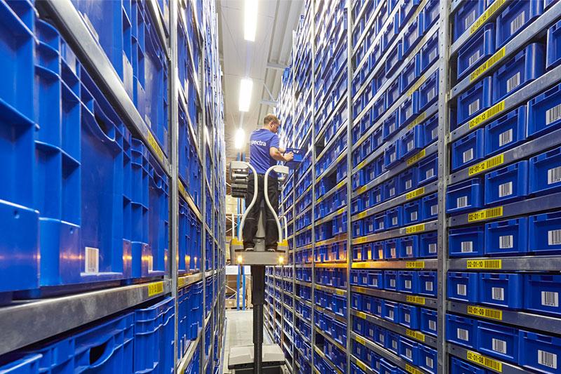 computergestützten Lagerplatzverwaltung