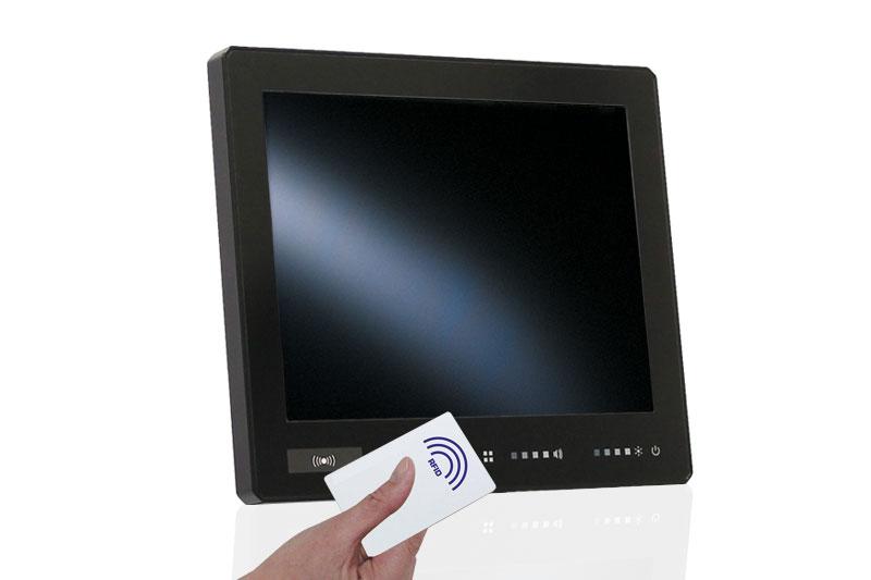 Integrierter RFID/NFC Leser