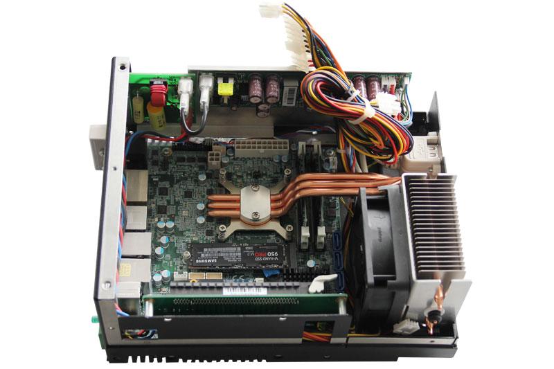 Ausgeklügeltes Kühlkonzept mittels Heatpipe