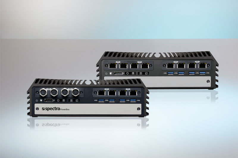 2 High Speed sockets for LAN & PoE Multi I/O modules