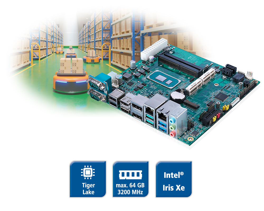 LV-67127 - Tiger Lake Mini-ITX Board