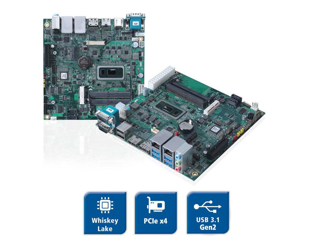 LV-67Z - Mini-ITX Board mit Whiskey Lake CPU