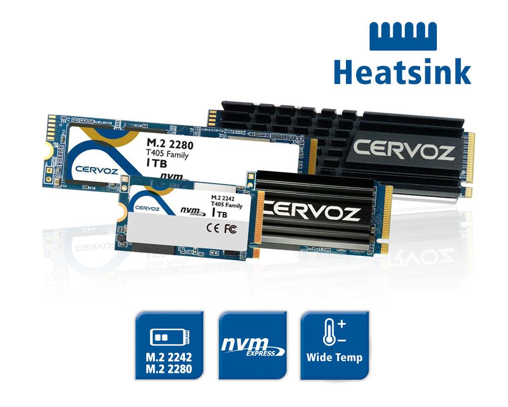 NVMe Wide Temp M.2 SSD