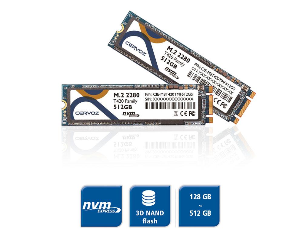 M.2 SSD 3D NAND Flash NVMe