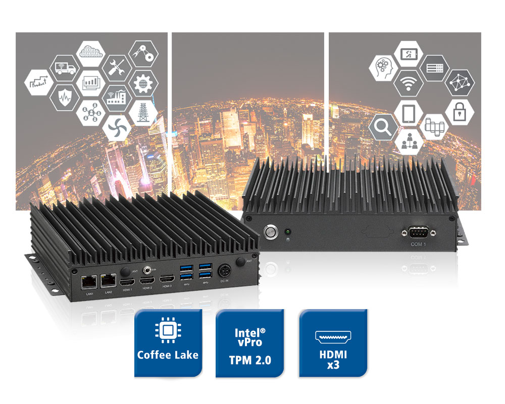 NEU-X300 - Smart-City Digital Signage Player
