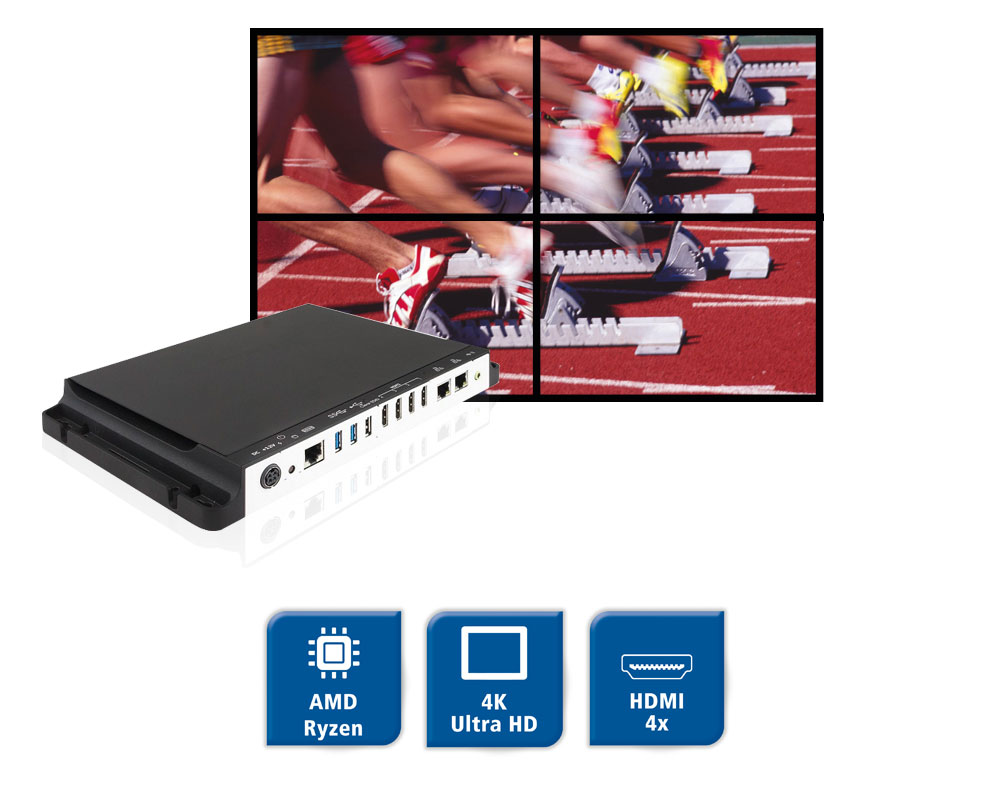 SI-324 - Digital Signage Player