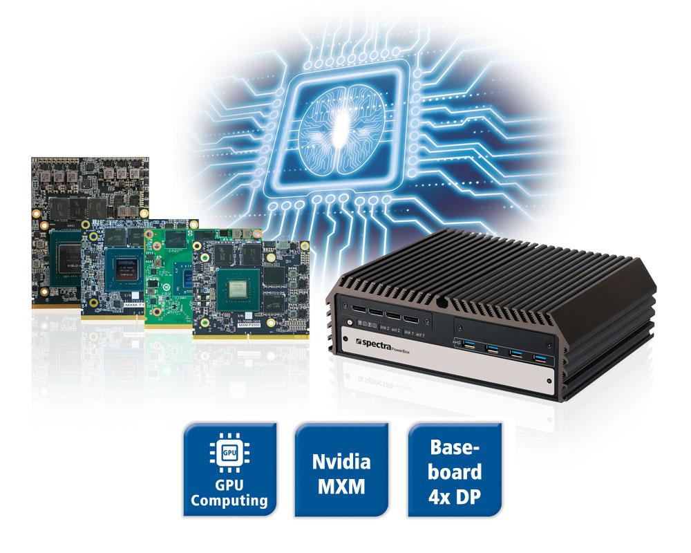 MXM Modules für Spectra PowerBox 500