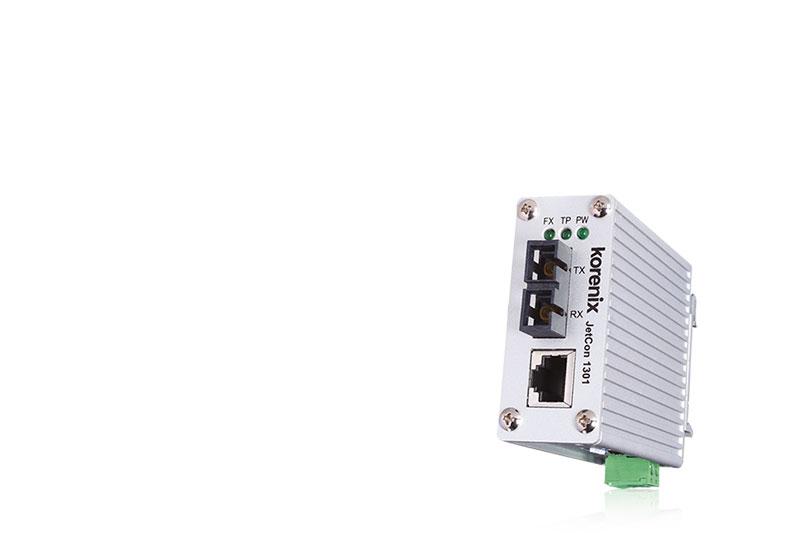 JetCon 1301  - Media Konverter in der Verkehrsleittechnik