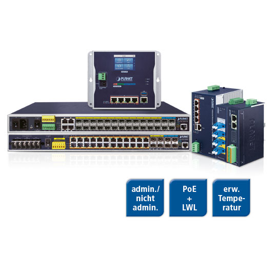 PLANET Ethernet Switches